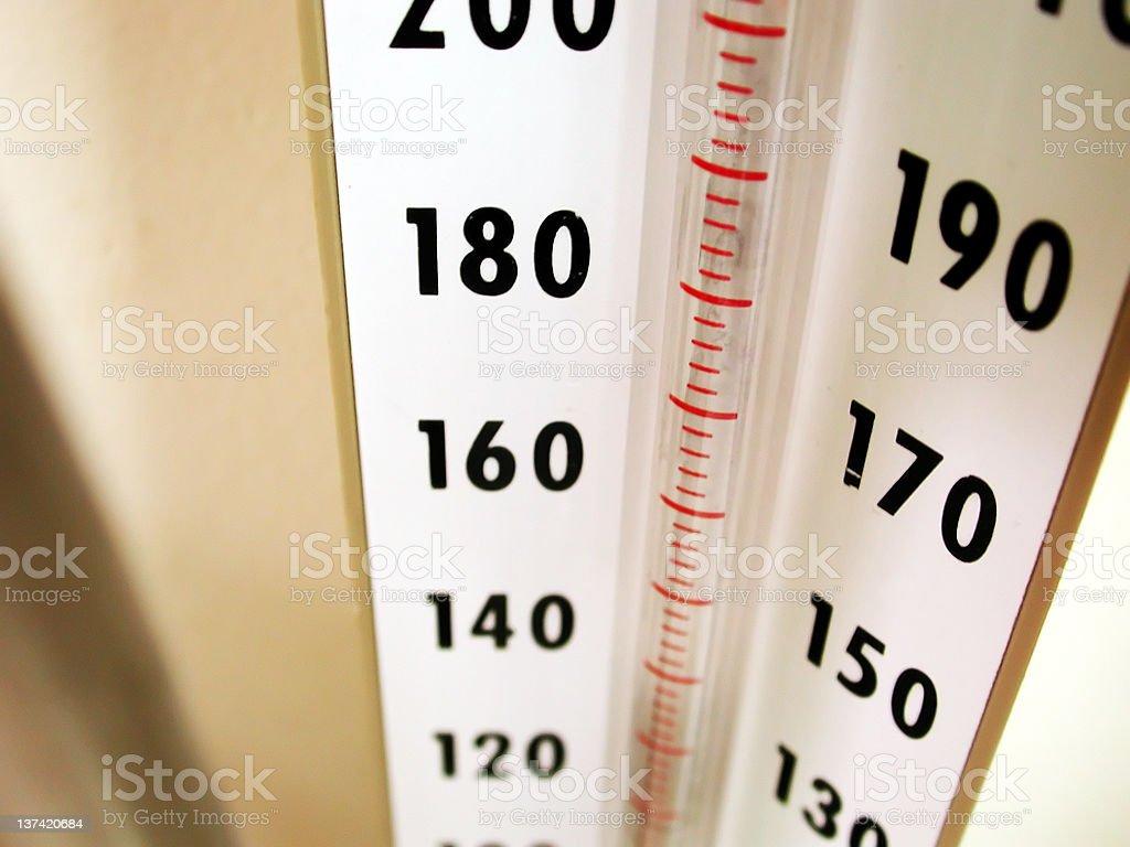 Medical Equipment - Blood Pressure Meter royalty-free stock photo