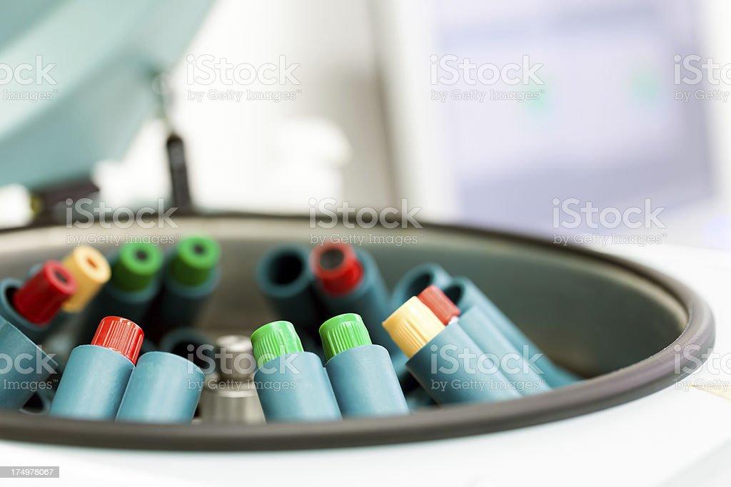 Medical Equipment - centrifuge royalty-free stock photo