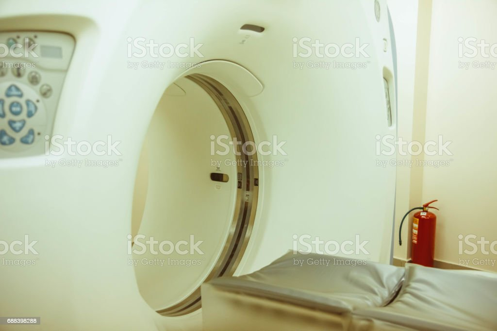Medical equipment in the hospital stock photo