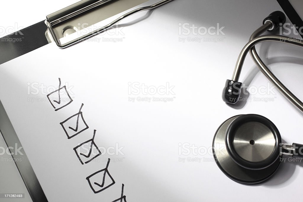 Medical Exam stock photo