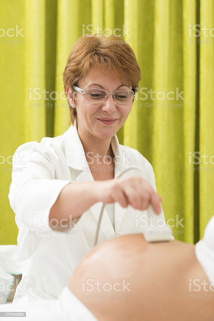 Medical exam royalty-free stock photo