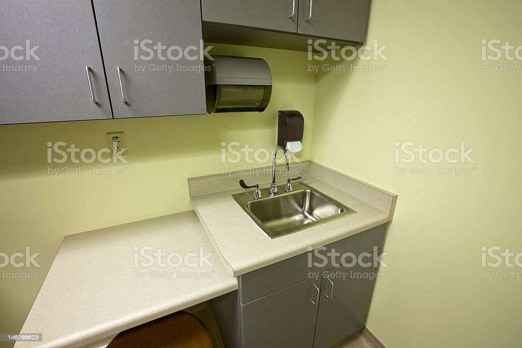 Medical Exam Room stock photo