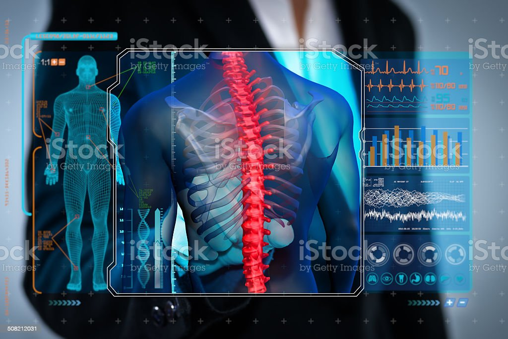 medical exam  X-ray stock photo