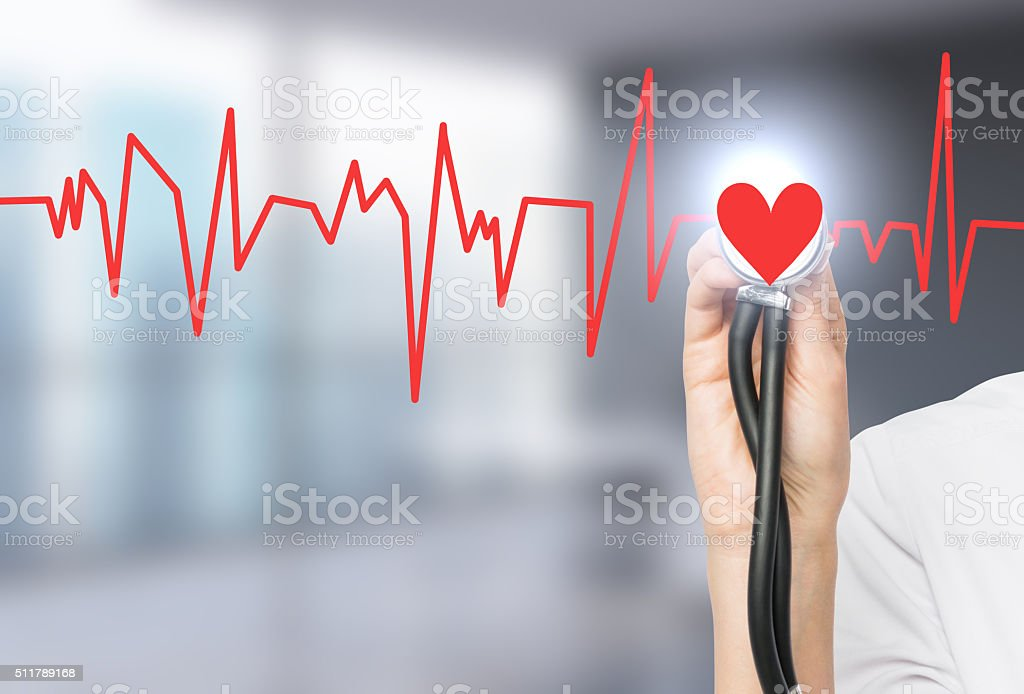 Medical examination stock photo