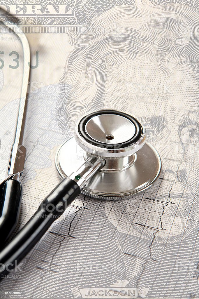 Medical expenses. royalty-free stock photo