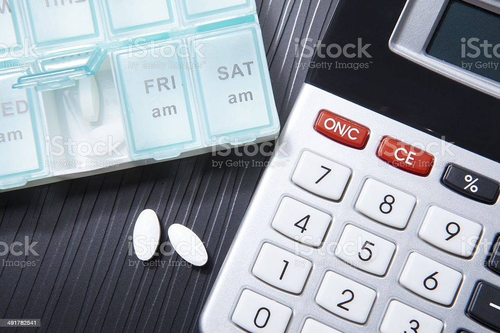 medical expenses stock photo