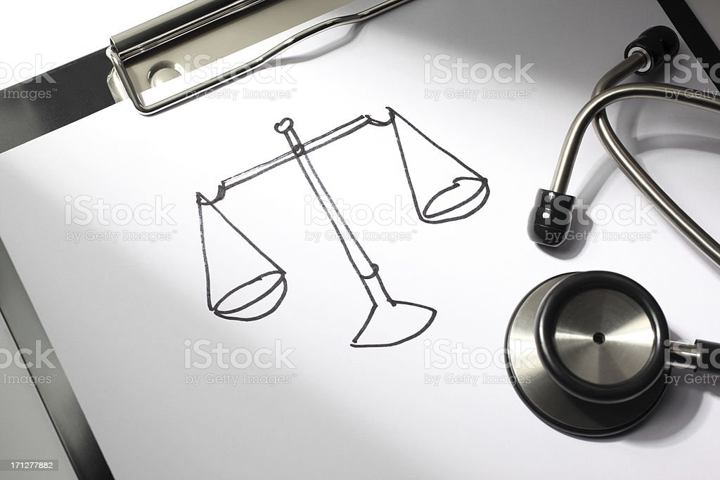 Medical Fairness royalty-free stock photo