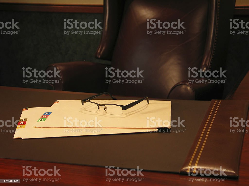 Medical Folders 7 royalty-free stock photo