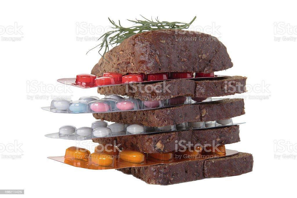 medical food mix royalty-free stock photo