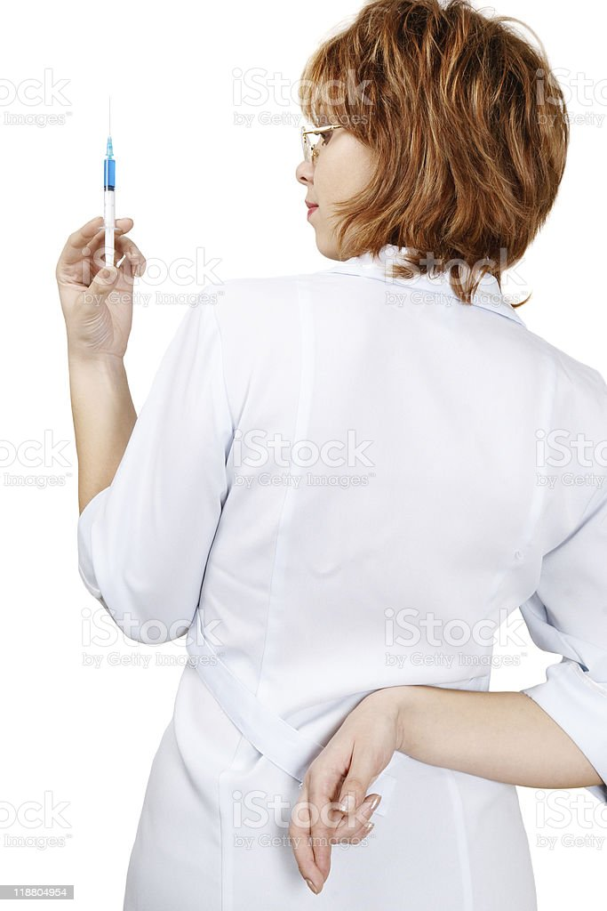 Medical fraud stock photo