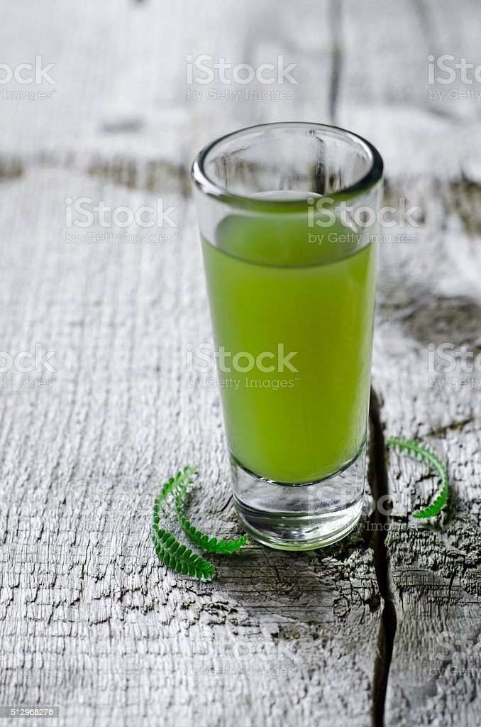 Medical herbal tincture stock photo