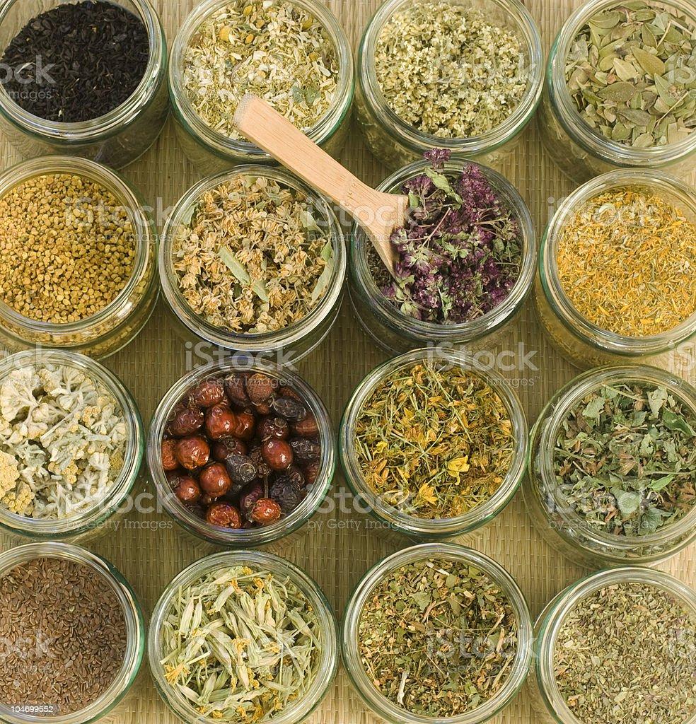 Medical Herbs stock photo