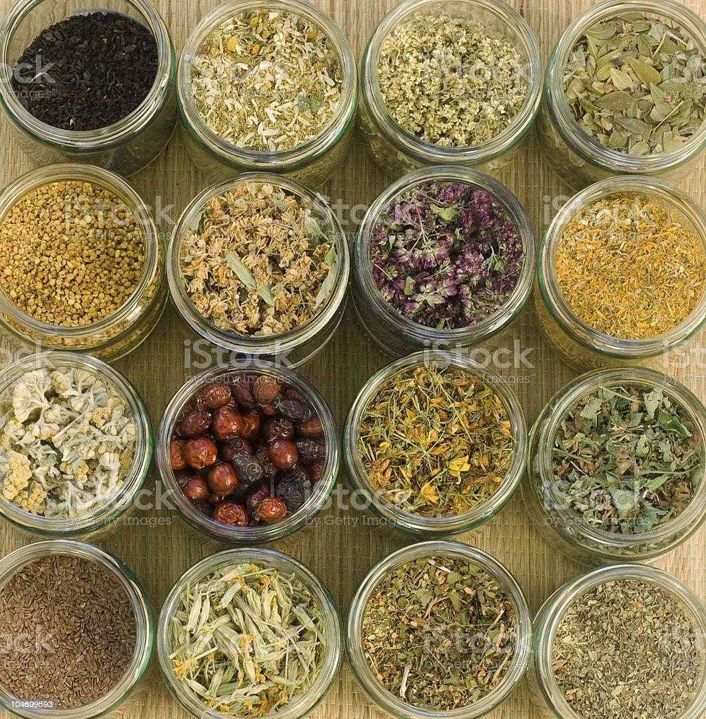 Medical Herbs royalty-free stock photo
