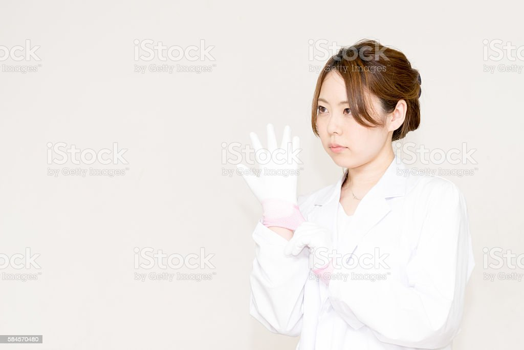 Medical image (doctor, women, nurse, research and lab coat) photo libre de droits