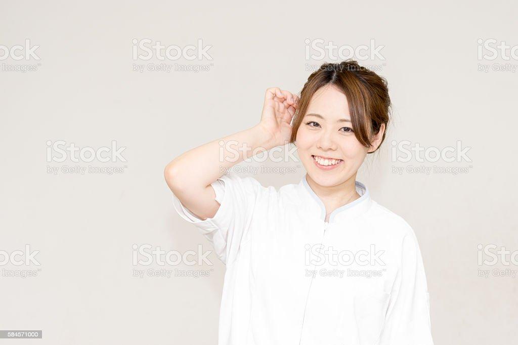 Medical image (women, Japanese and person) photo libre de droits