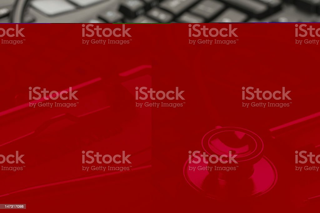 Medical information stock photo