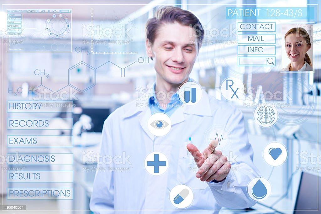 Medical innovation stock photo