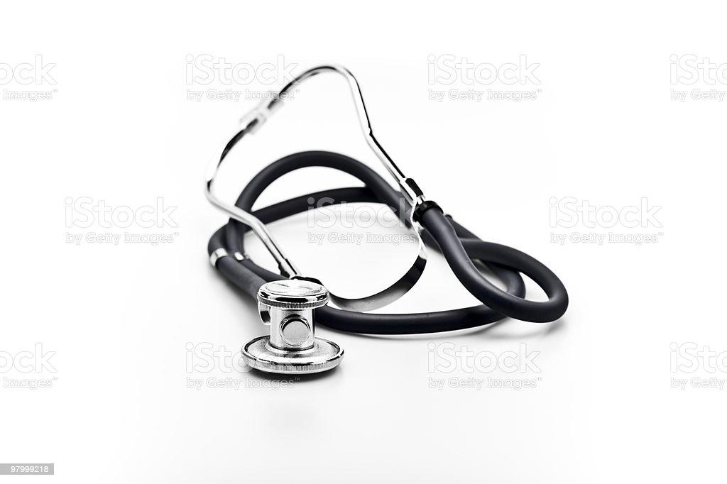 medical instrument Stethoscope royalty-free stock photo