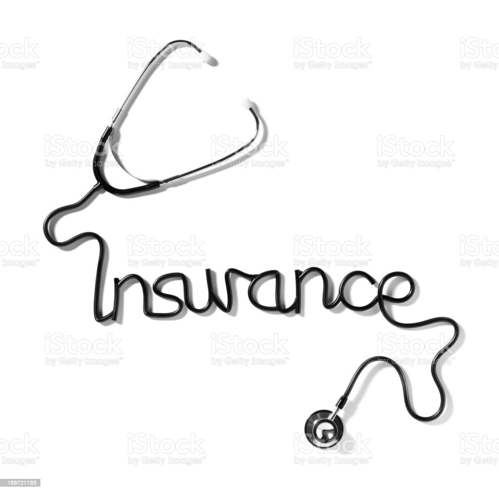 Medical Insurance royalty-free stock photo