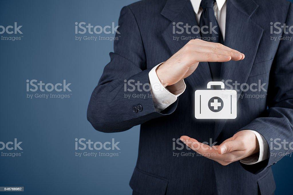 Medical insurance stock photo