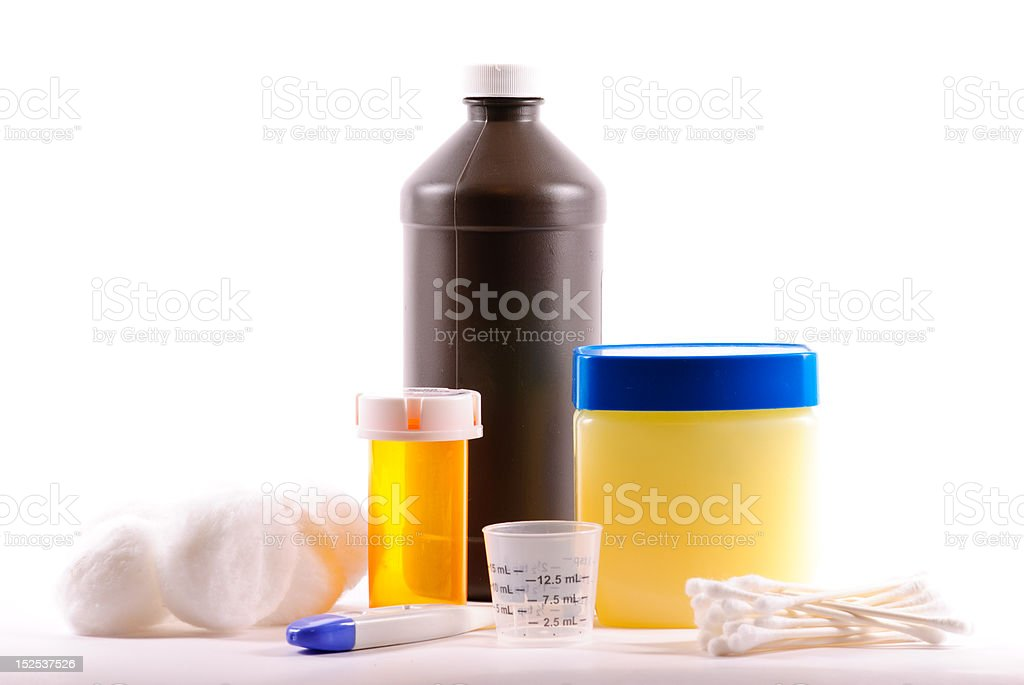 Medical Items stock photo