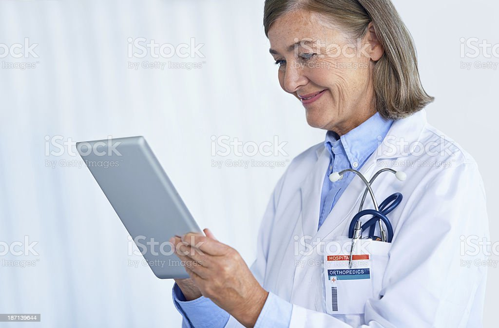 Medical journals in a digital age royalty-free stock photo