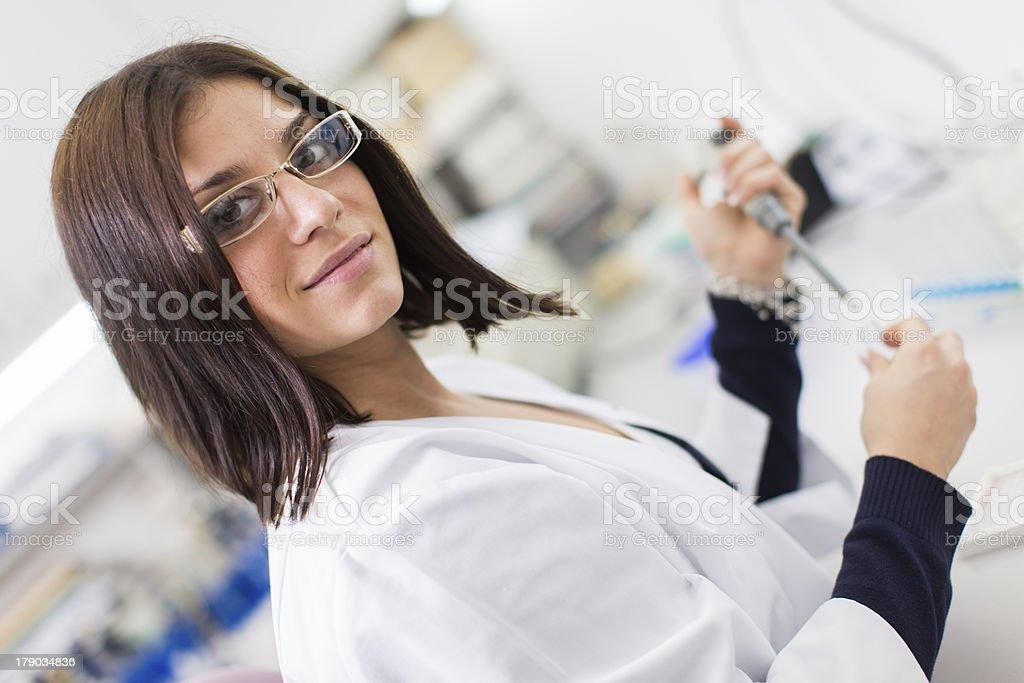 Medical laboratory royalty-free stock photo