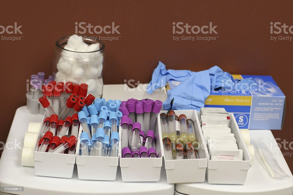 Medical Laboratory Supplies royalty-free stock photo