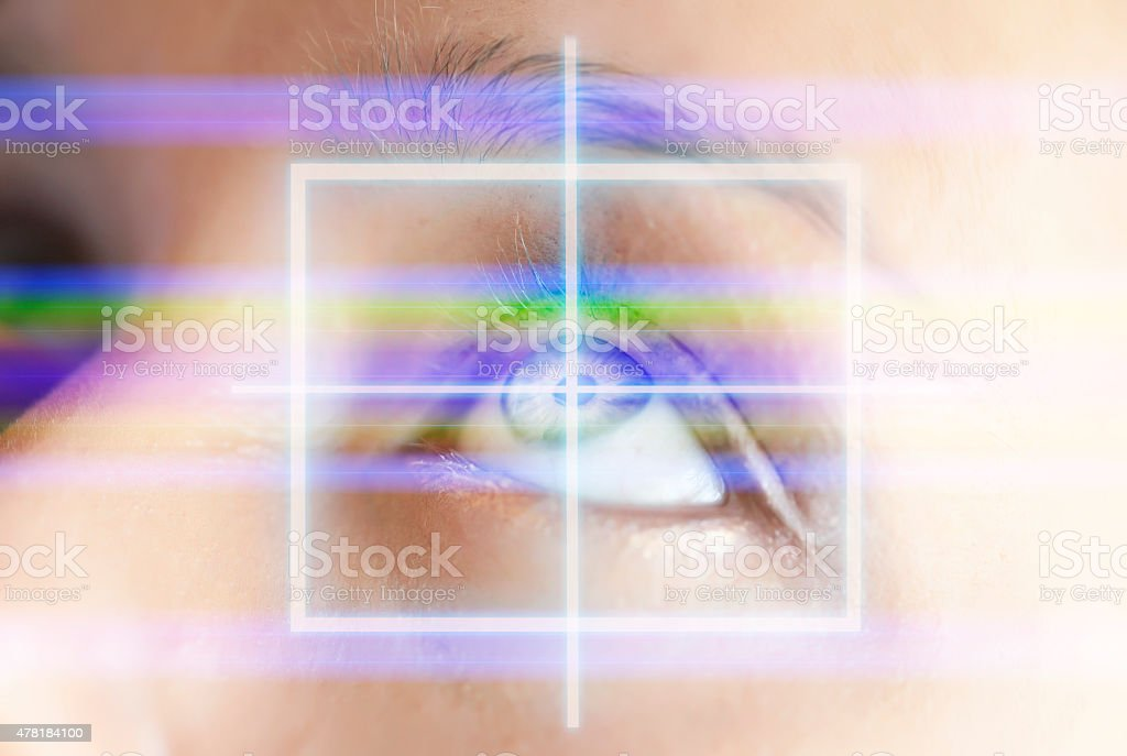Medical Laser stock photo