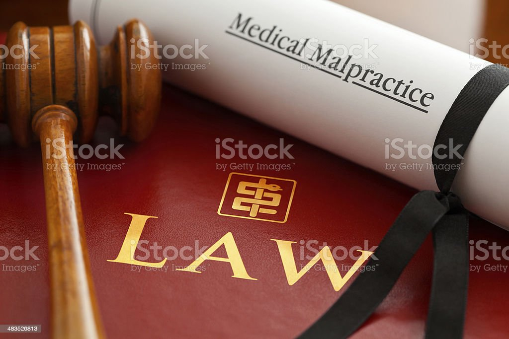 Medical Malpractice stock photo
