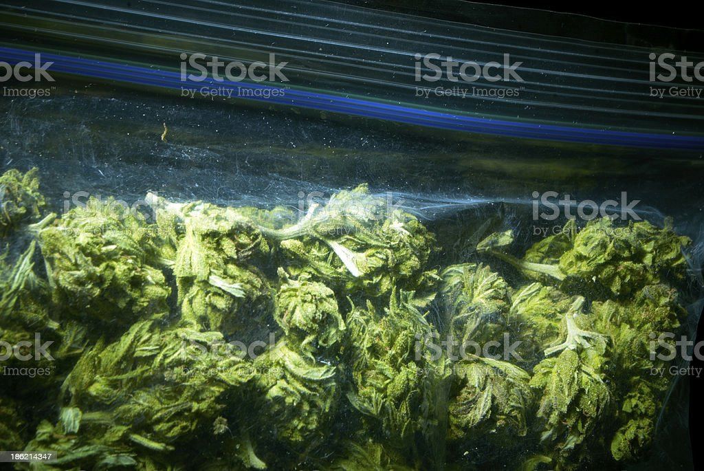 Medical Marijuana Background royalty-free stock photo