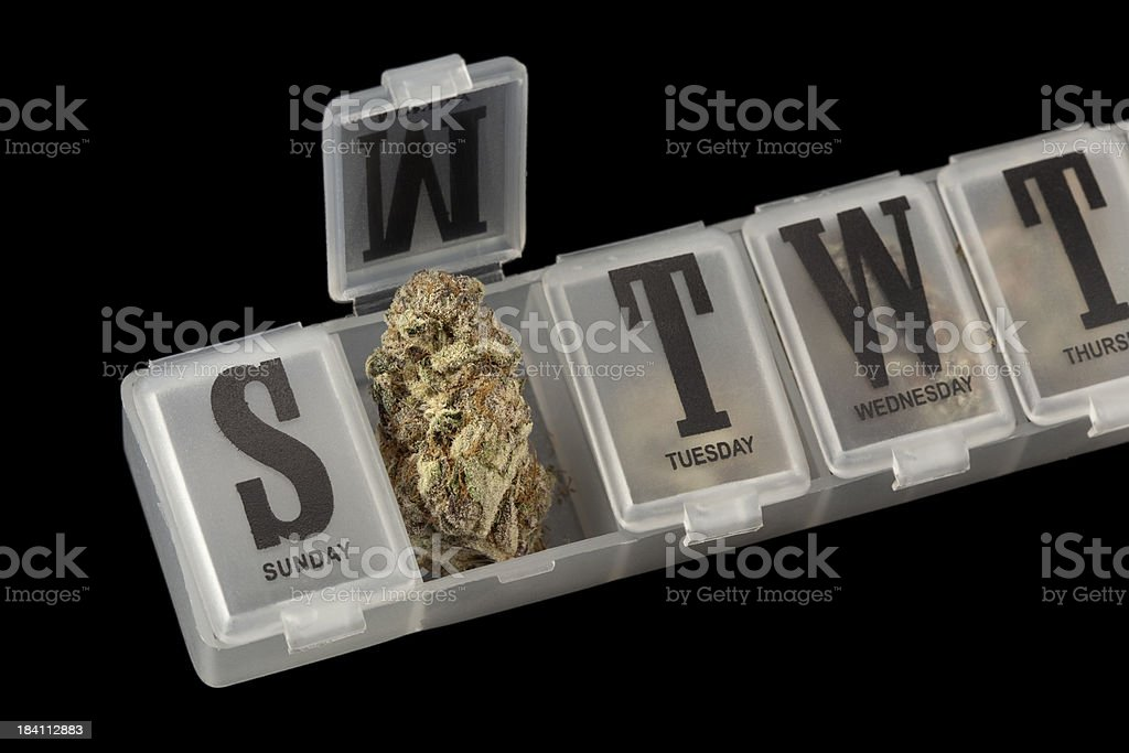 Medical marijuana royalty-free stock photo
