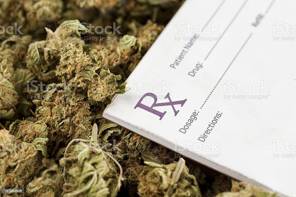 Medical Marijuana stock photo