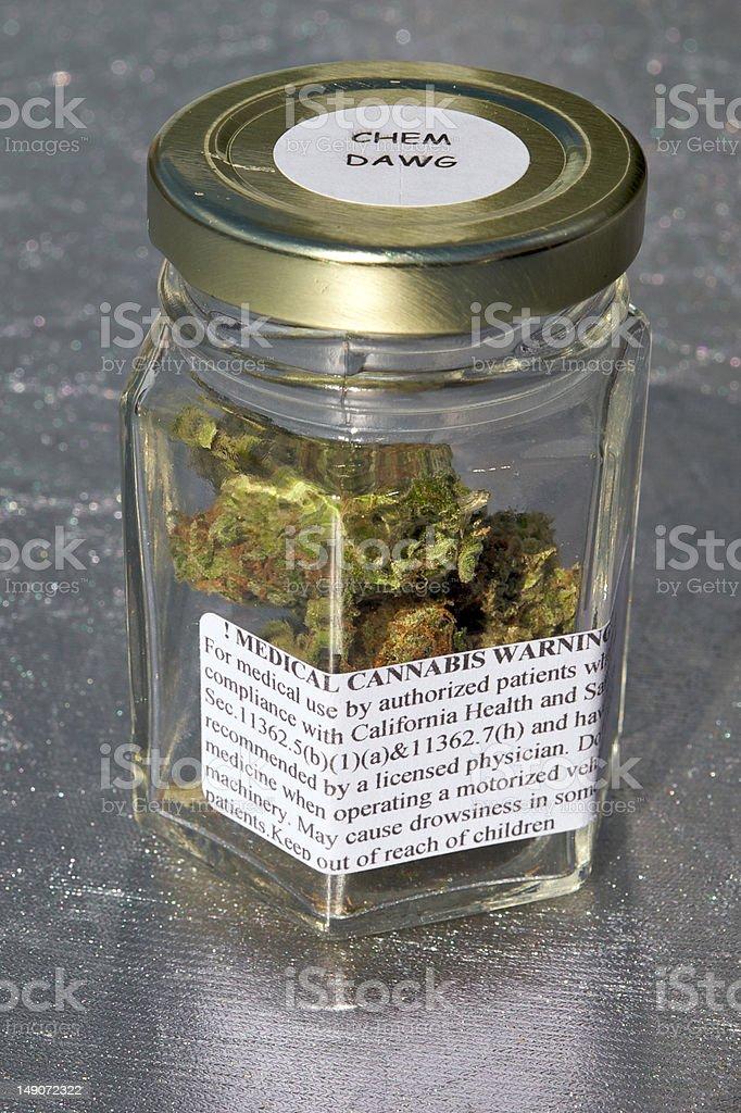 Medical Marjuana royalty-free stock photo