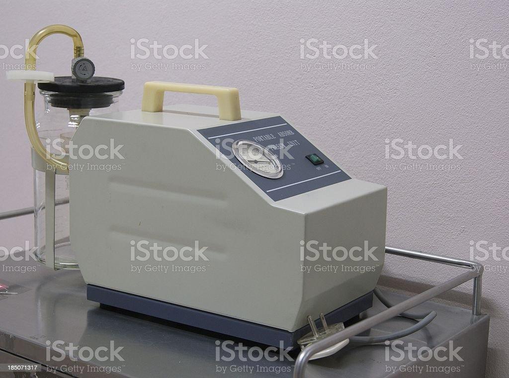 medical medi-vac vacuum suction unit stock photo