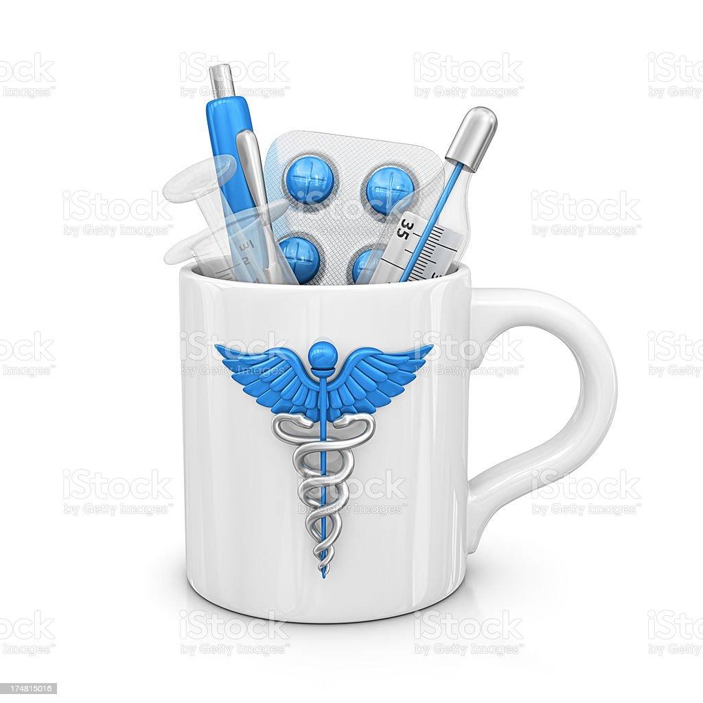 medical mug royalty-free stock photo