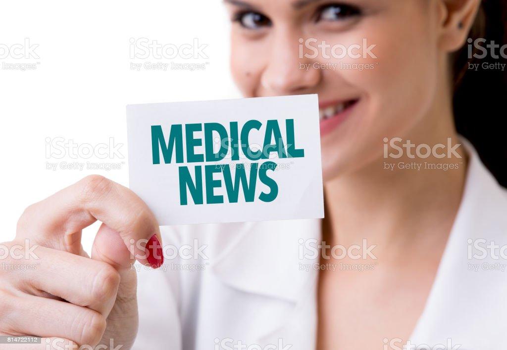 Medical News stock photo