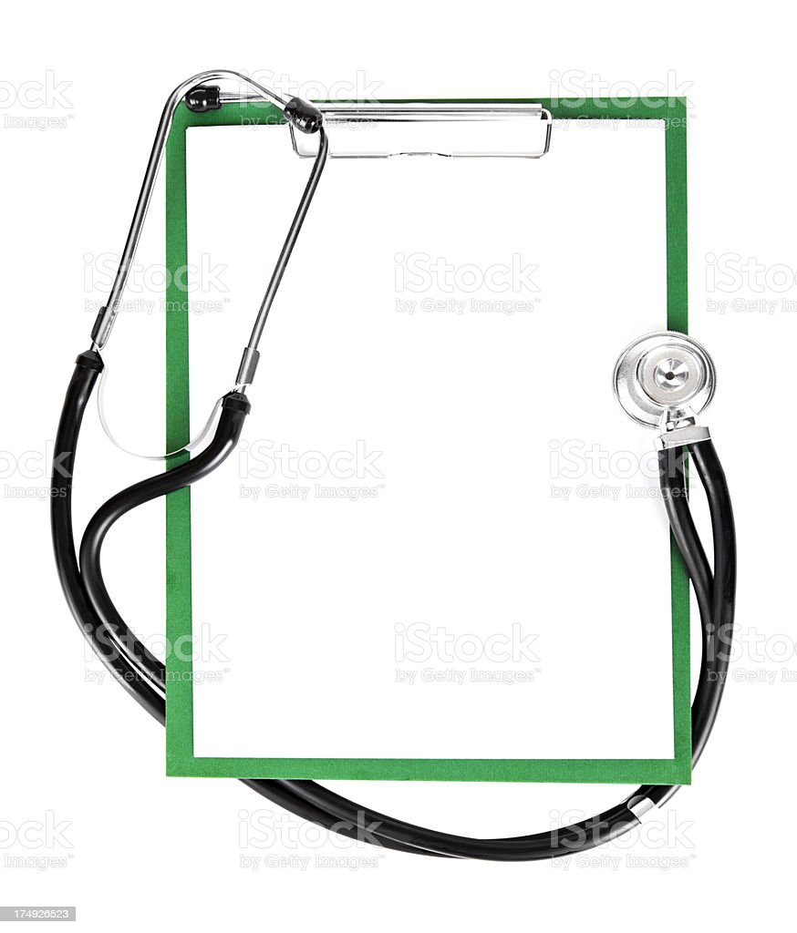 Medical Notes royalty-free stock photo