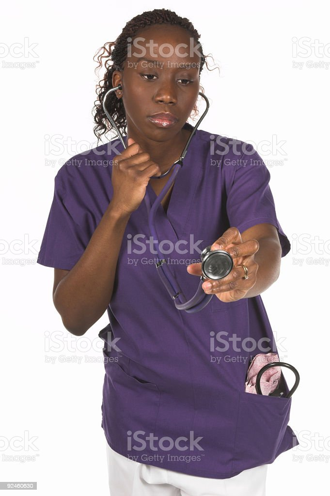 Medical Nurse royalty-free stock photo