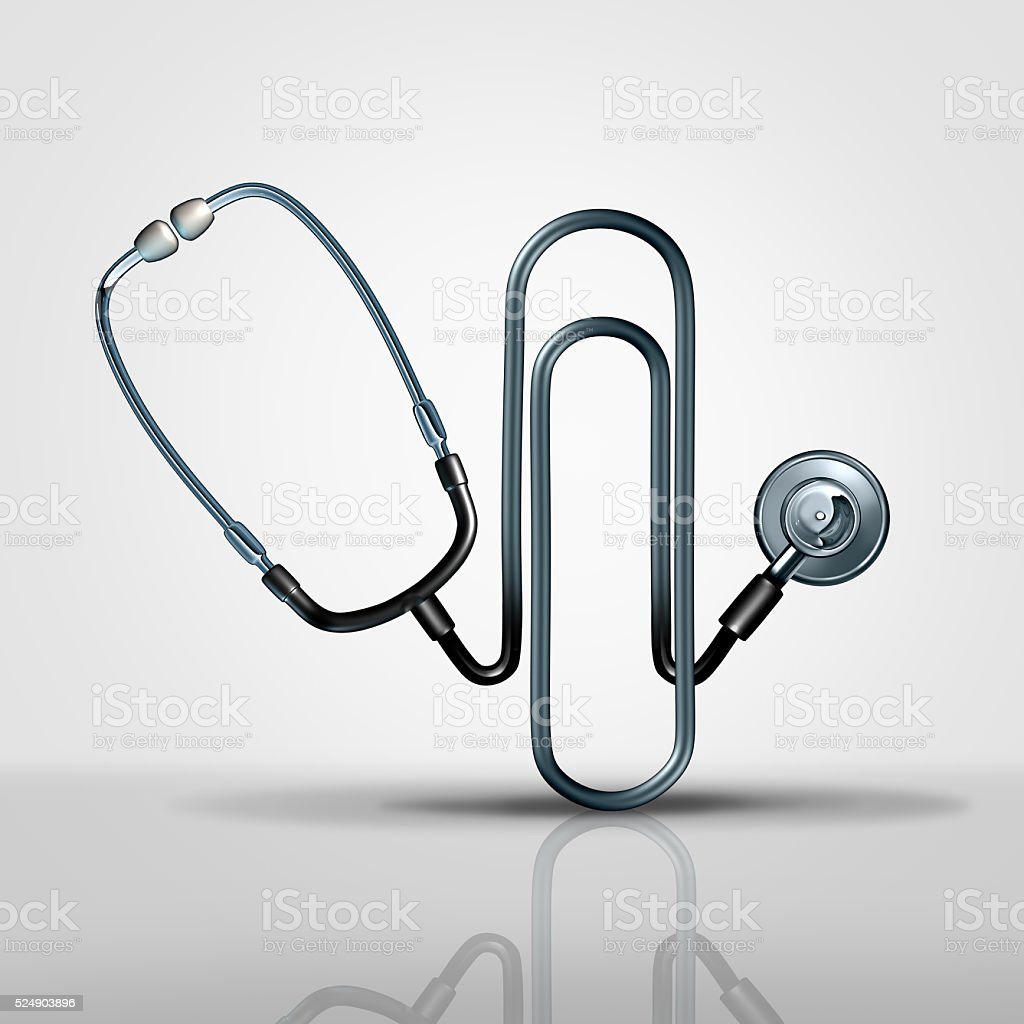 Medical Office Management stock photo