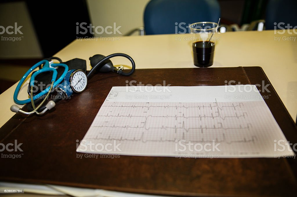Medical office stock photo