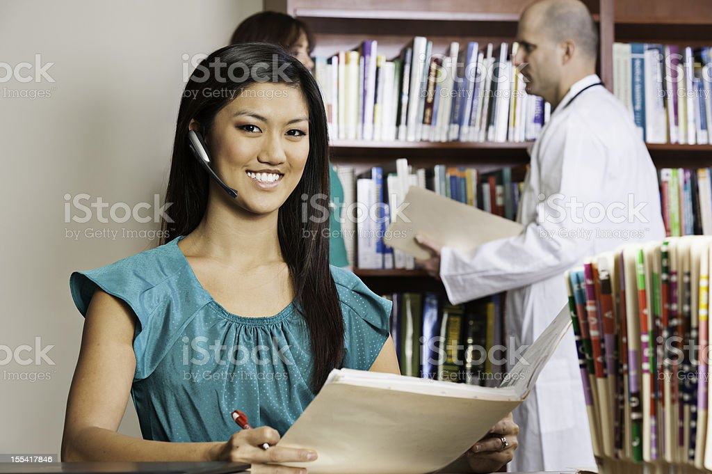 Medical Office Professional stock photo