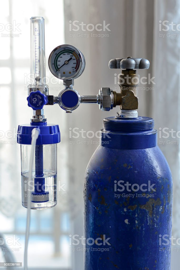 Medical Oxygen Concentrator stock photo