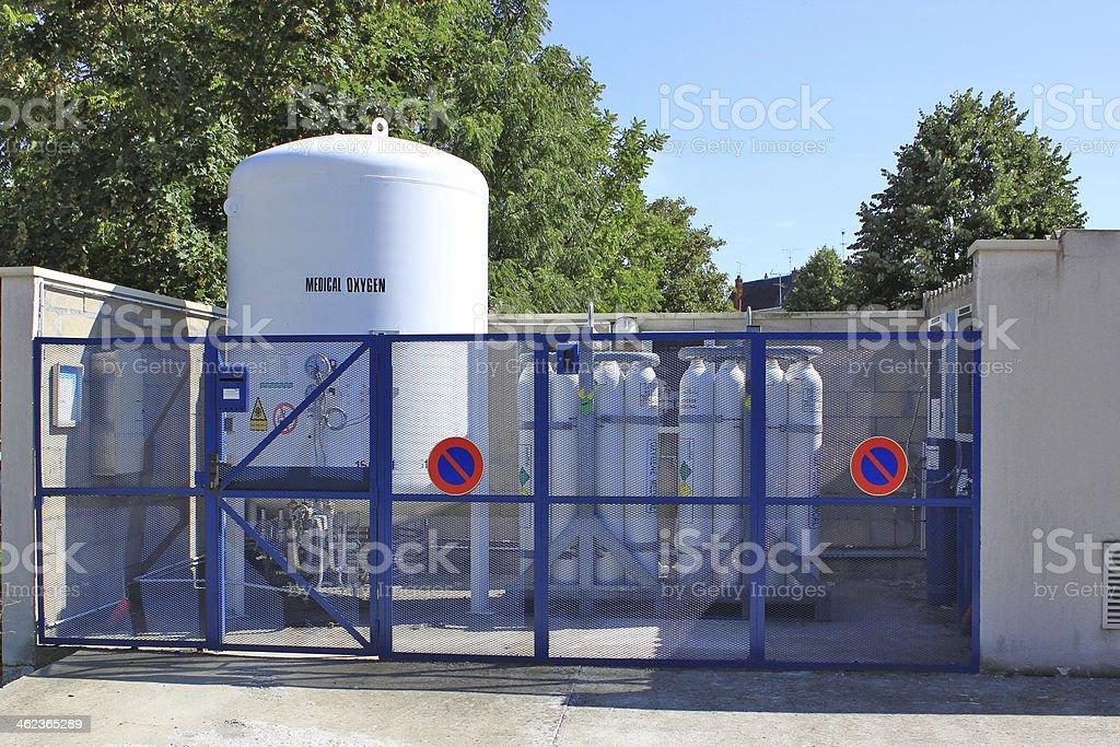 medical oxygen stock photo
