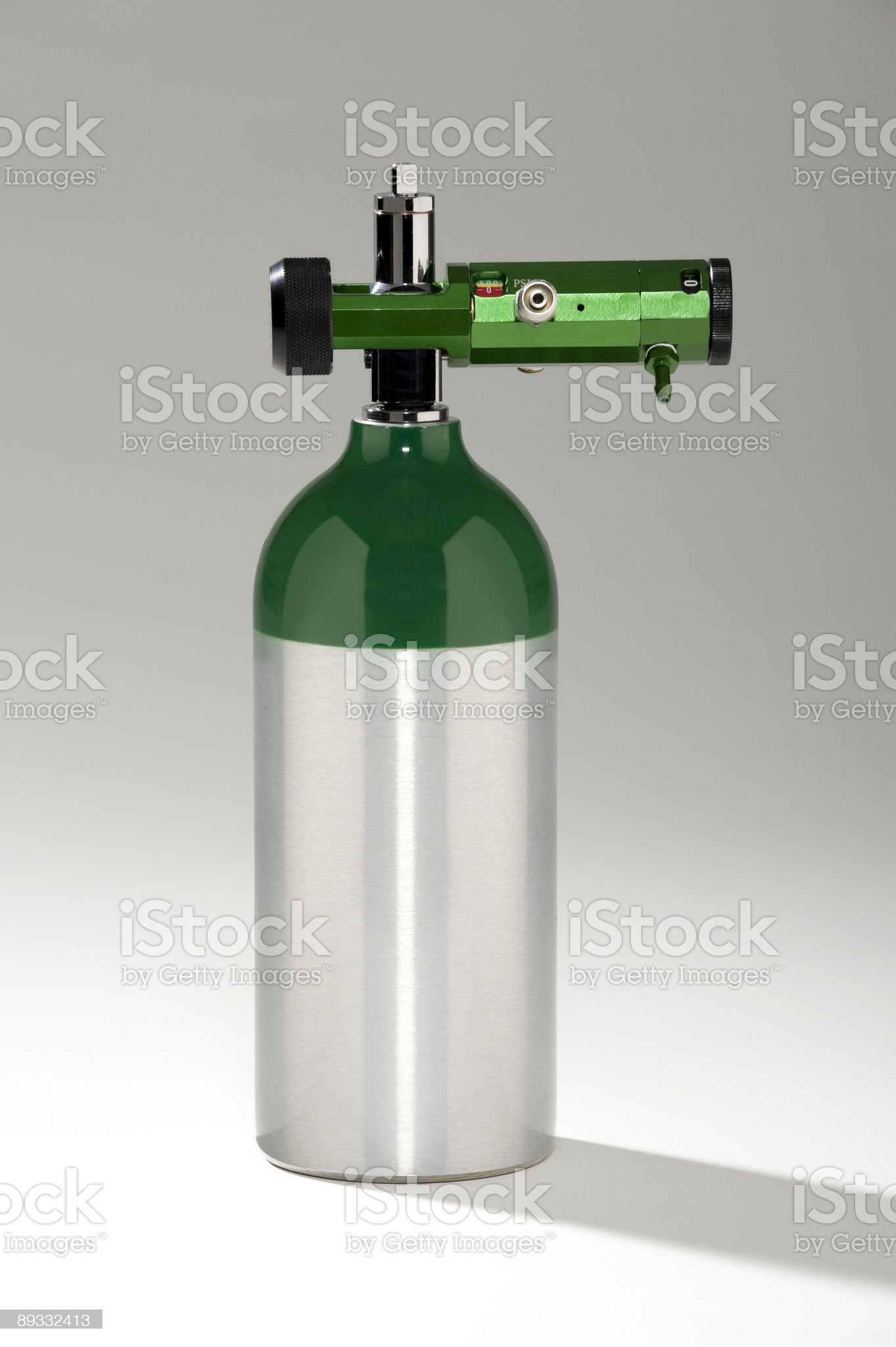 Medical Oxygen Tank royalty-free stock photo