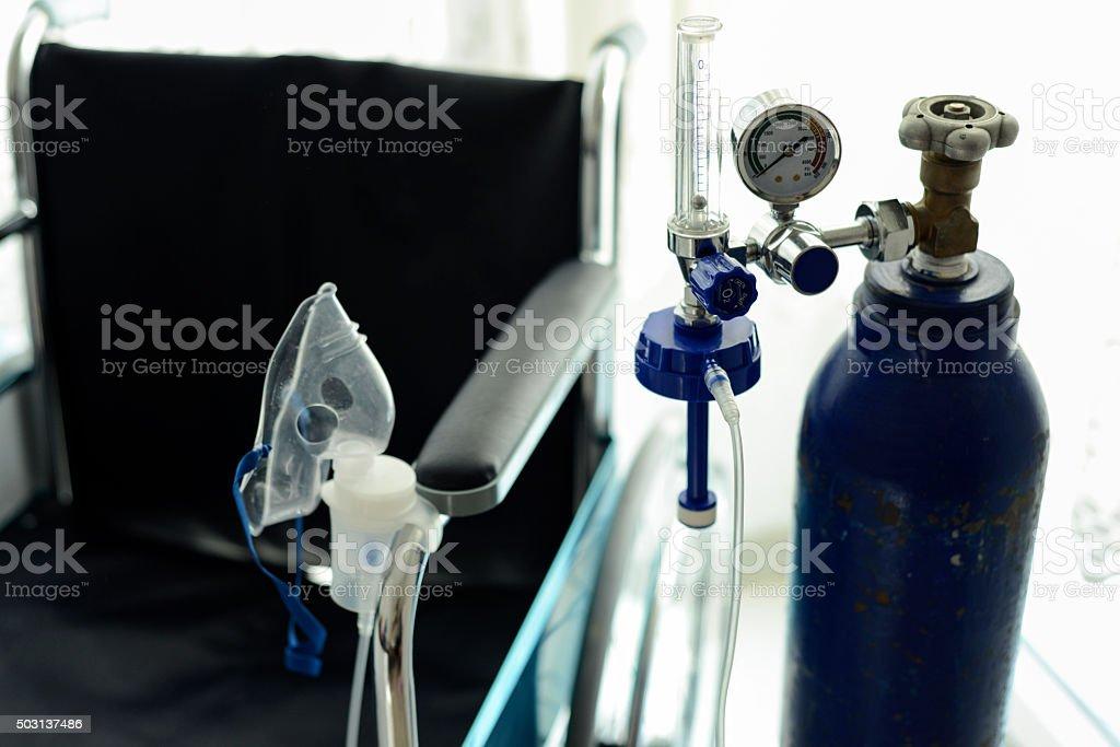 Medical Oxygen Tube stock photo
