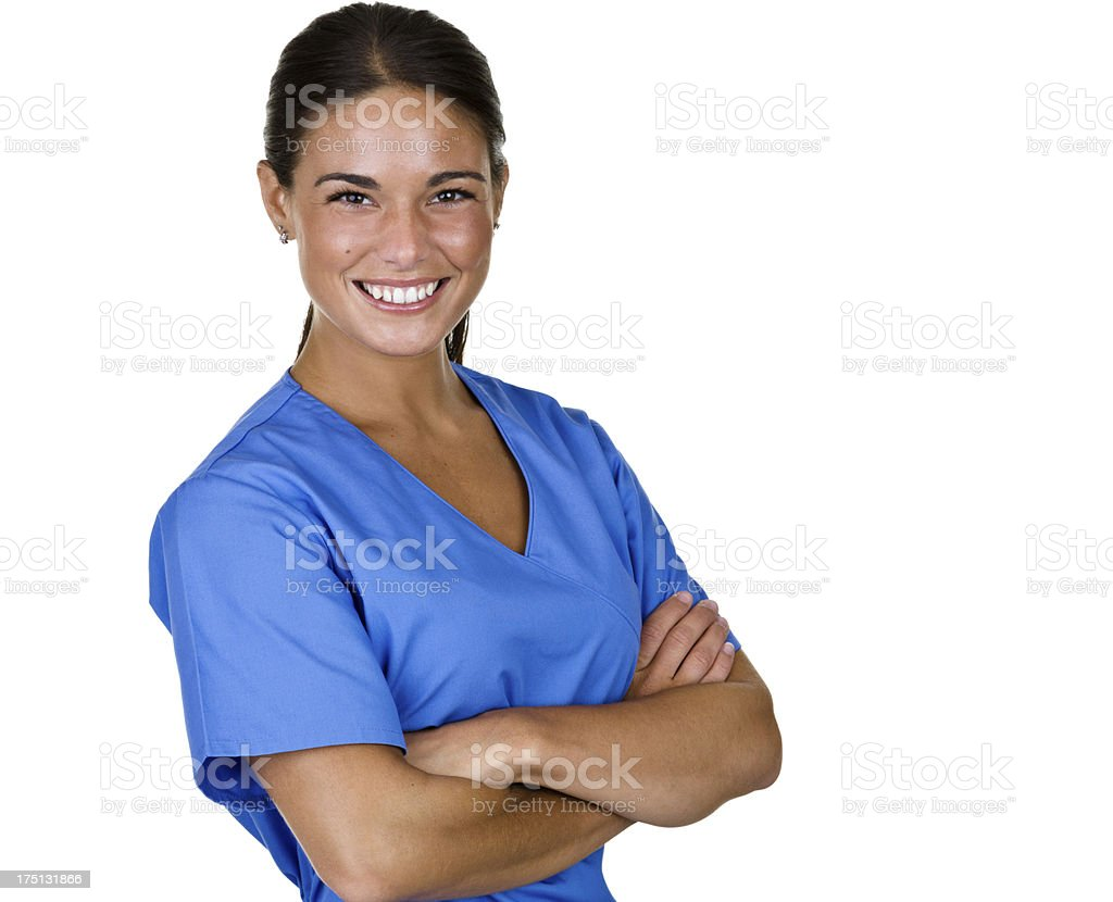 Medical personel stock photo