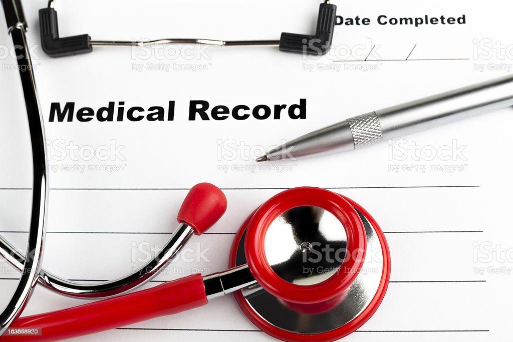 Medical royalty-free stock photo