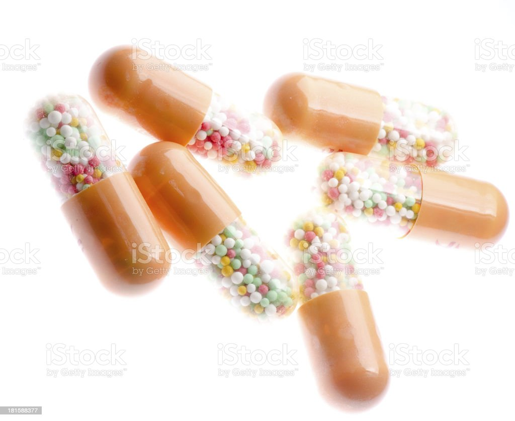 Medical pill tablet royalty-free stock photo