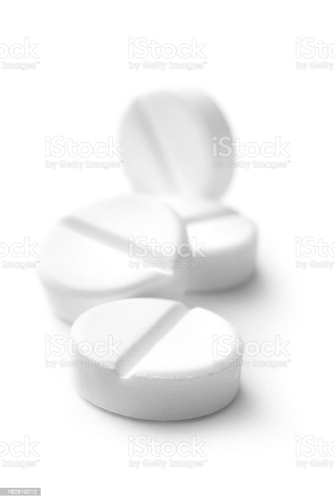 Medical: Pills royalty-free stock photo